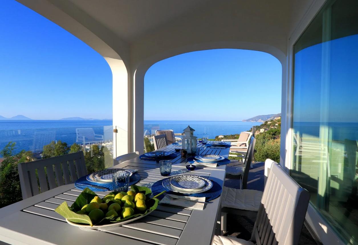 MODERN VILLA WITH BREATHTAKING SEA VIEW, CAPO D'ORLANDO, MESSINA (SICILY) €2.100.000